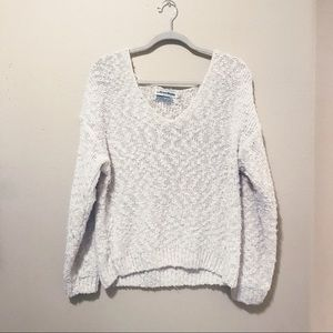 Sweaters - Alyssa Brooke White Chunky Sweater